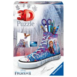 Ravensburger 3D pusle kets pliiatsitops Frozen 1/4