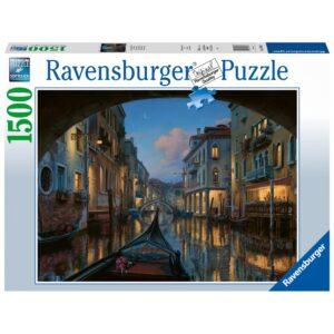 Ravensburger pusle 1500 tk. Veneetsia unistused 1/1